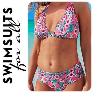SFA | Hibiscus Bikini Briefs, 14 - NWOT | NBW